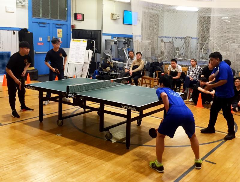 Eagles table tennis